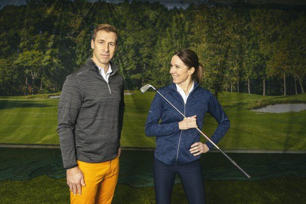 Heini Haapala ja Ari Savolainen - golfin perusteet